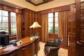 elegant office. Elegant Country Rustic Home Office Katharine Posillico Mcgowan