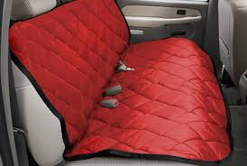 pet pad red pet seat covers