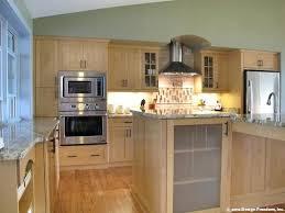 light wood kitchen amazing cabinets for oak modern85