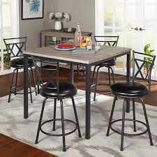 counter height table sets counter high dining sets tall round dining table set