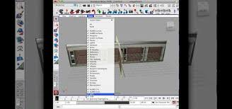 how to produce a 3d house building model using maya