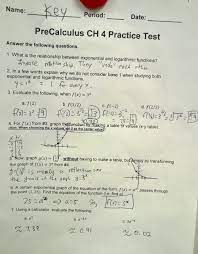 Purchase the basic program once for each grade. Precalculus Chapter 6 Test Answers