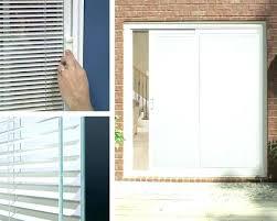 sliding patio door blinds between the glass with pella bl