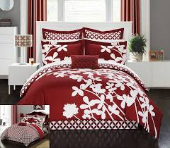 bedding black full size comforter set red and black comforter queen red white and blue