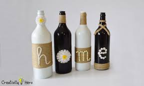 diy glass bottle home decor 3 simple ideas 13