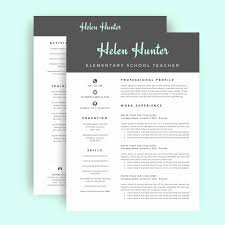 Gallery Of 2 Page Resume Template