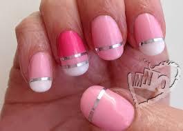 mno: Fun Nail Art Striping Design