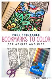 You can use our amazing online tool to color and edit the following bookmark coloring pages printable. Free Printable Bookmarks To Color That Kids Craft Site