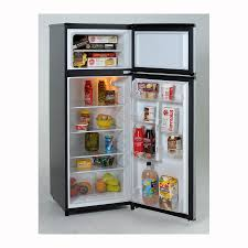 Pc Richards Kitchen Appliances Avanti 74 Cu Ft Top Freezer Refrigerator Platinum Pcrichard