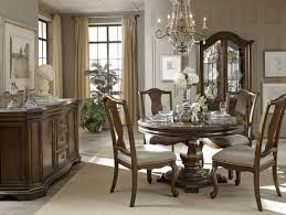 Round Table Dining The La Viera Round Table Dining Room Collection 16056
