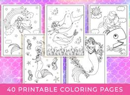 Search through 623,989 free printable colorings at getcolorings. Mermaid Coloring Pages 40 Printable Mermaid Coloring Pages For Girls Teens