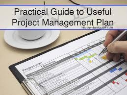 Project Management Plan A Practical Guide Pm Basics