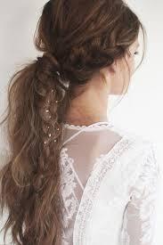 Cheveux Autres Poils Une Queue De Cheval Boh Me Avec Une