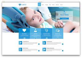 Clinico Dentist Medical Website Template Websites Referances