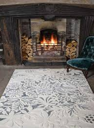 textures loxley white grey wool rug capitalrugsuk free uk delivery