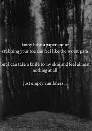 Quotes Cutting Yourself Best of 24 Best Quotes About Cutting Images On Pinterest Depressing Quotes
