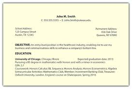 Resume Example Objective For Students resume Resume Goals Examples 31