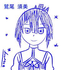 Moon Moon — Washio Sumi/Togo <b>Mimori</b> sketch Anime <b>hair</b> is...