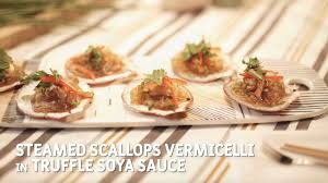 Steamed Scallops Vermicelli Recipe by ...