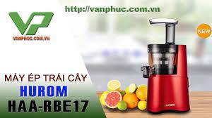 Đập hộp máy ép trái cây Hurom HAA-RBE17 Made in Korea - YouTube