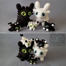 Light Fury Dragon Babies How To Train Your Dragon Baby Night Light Fury Dragon