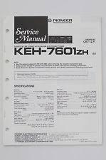 pioneer cassette keh pioneer keh 7601zh original service manual guide wiring diagram o58