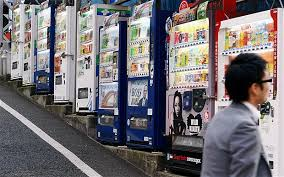 Vending Machine In Japanese Gorgeous Japanese Vending Machines To Offer Free WiFi Telegraph