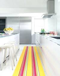 pink kitchen rug area rugs runners long runner yellow and striped contemporary peonies