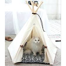 pet tee bed pet bed chic trendy small dog tent cat nap beds stripe pet tee