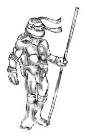 Donatello Sketch Http Drawingmanuals Com Manual