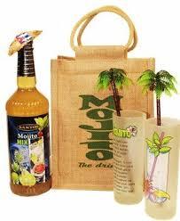 cuban style mojito gift set