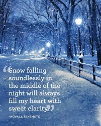 Quotes About Winter Beauty Best of 24 Absolutely Beautiful Quotes About Snow Pinterest Snow Falls