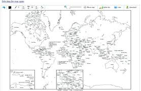 World Map Black And White Printable With Countries World Map Outline With Countries Labeled Fresh Blank World Map