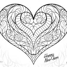 Free Thanksgiving Valentine Heart Coloring Pages 19 Adult Printables