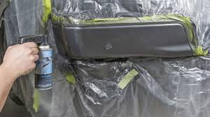 limiting overspray while spray painting
