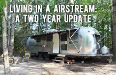 I Couple Living In 78 Airstream Tiny Home