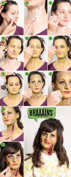 modcloth s zombie make up tutorial