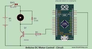 arduino dc motor sd control