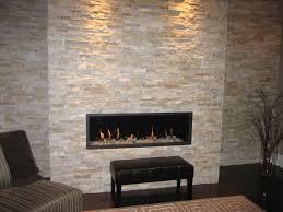 white stone fireplace mosaic