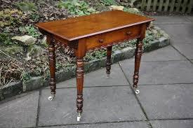 mahogany hall table. victorian mahogany hall side end occasional table desk mahogany hall table
