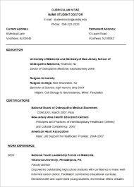 American Resume Format Resume Sample