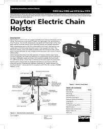 dayton hoist wiring diagram wiring diagram meta daytonelectricchain manualzz com dayton 1 ton electric chain hoist wiring diagram dayton hoist wiring diagram