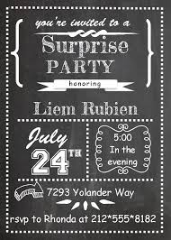 surprise birthday party invite surprise birthday invitations uk rome fontanacountryinn com