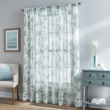 Teal Living Room Curtains Curtains Window Treatments Walmartcom