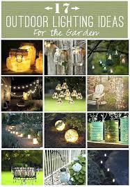 diy garden lighting ideas. Cosy Diy Backyard Lighting Garden Ideas Outdoor A .