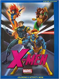 Get your free printable x men coloring pages at allkidsnetwork.com. X Men Coloring Activity Book Super Size Marvel Ronald Donald Williams Amazon Com Books