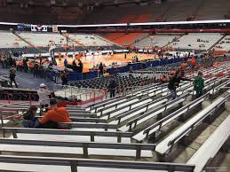 Su Dome Seating Chart Carrier Dome Section 111 Syracuse Basketball