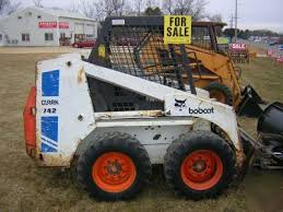 742 bobcat skid steer skidsteer loader no