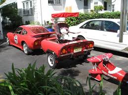 gives me an ideal for a opel gt trailer but using the front of gives me an ideal for a opel gt trailer but using the front of the
