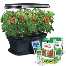 Indoor Kitchen Herb Garden Kit Indoor Gardening Hydroponics